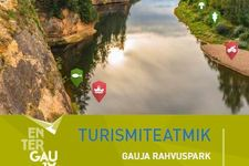 Enter Gauja Tourism Guide in Estonian